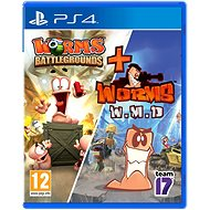 Worms Battlegrounds + Worms WMD Double Pack – PS4 - Hra na konzolu
