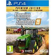 Hra na konzolu Farming Simulator 19: Premium Edition – PS4