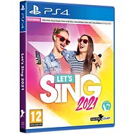 Lets Sing 2021 + 1 microphone – PS4