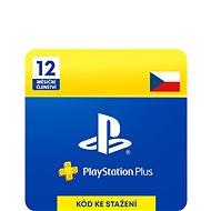 PlayStation Plus 12-mesačné členstvo – CZ Digital - Dobíjacia karta