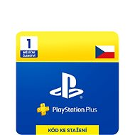 PlayStation Plus 1-mesačné členstvo – CZ Digital - Dobíjacia karta