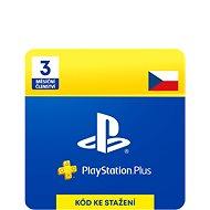 PlayStation Plus 3-mesačné členstvo - CZ Digital - Dobíjacia karta