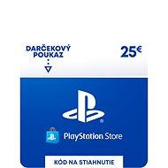 PlayStation Store - Kredit 25 EUR - SK Digital - Dobíjecí karta