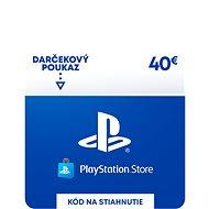 PlayStation Store - Kredit 40 EUR - SK Digital - Dobíjecí karta