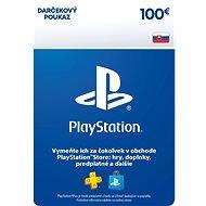 PlayStation Store – Kredit 100 EUR – SK Digital - Dobíjacia karta