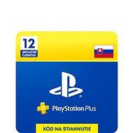 PlayStation Plus 12-mesačné členstvo – SK Digital - Dobíjacia karta