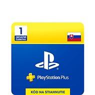 PlayStation Plus 1-mesačné členstvo – SK Digital - Dobíjacia karta