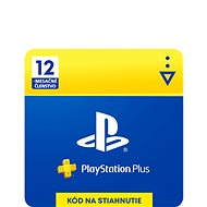 PlayStation Plus 12 měsíční členství - SK Digital - Dobíjecí karta