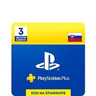 PlayStation Plus 3-mesačné členstvo – SK Digital - Dobíjacia karta