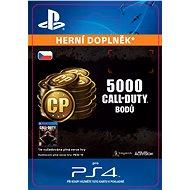4,000 (+1,000 Bonus) Call of Duty Points- SK PS4 Digital - Herní doplněk