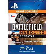 Battlefield Hardline Betrayal- SK PS4 Digital - Herní doplněk