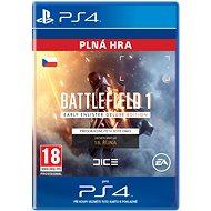 Battlefield 1 Early Enlister Deluxe Edition- SK PS4 Digital - Herní doplněk
