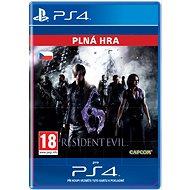 Resident Evil 6- SK PS4 Digital - Hra pro konzoli