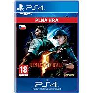 RESIDENT EVIL 5- SK PS4 Digital - Hra pro konzoli