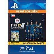 500 FIFA 17 Points Pack- SK PS4 Digital - Herní doplněk