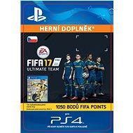 1050 FIFA 17 Points Pack- SK PS4 Digital - Herní doplněk