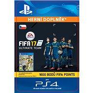 1600 FIFA 17 Points Pack- SK PS4 Digital - Herní doplněk