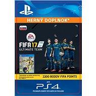 2200 FIFA 17 Points Pack- SK PS4 Digital - Herní doplněk
