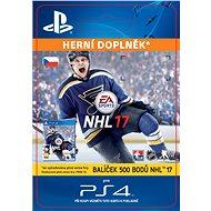 500 NHL 17 Points Pack- SK PS4 Digital - Herní doplněk
