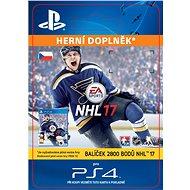 2800 NHL 17 Points Pack- SK PS4 Digital - Herní doplněk
