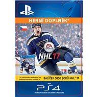 5850 NHL 17 Points Pack- SK PS4 Digital - Herní doplněk