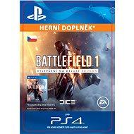 Battlefield 1 Deluxe Edition Content- SK PS4 Digital - Herní doplněk