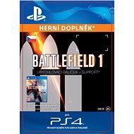Battlefield 1 Shortcut Kit: Support Bundle- SK PS4 Digital - Herní doplněk