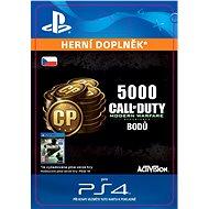 5,000 Call of Duty: Modern Warfare Remastered- SK PS4 Digital - Herní doplněk