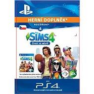 The Sims™ 4 City Living – PS4 CZ Digital - Herný doplnok