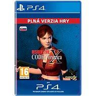 Resident Evil Code: Veronica X - PS4 SK Digital - Hra pro konzoli