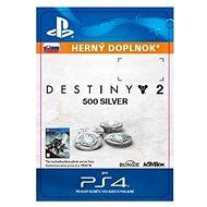 500 Destiny 2 Silver – PS4 SK Digital - Herný doplnok