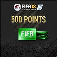 500 FIFA 18 Points Pack – PS4 SK Digital - Herný doplnok