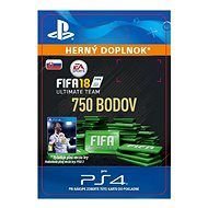 750 FIFA 18 Points Pack – PS4 SK Digital - Herný doplnok