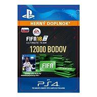 12 000 FIFA 18 Points Pack – PS4 SK Digital - Herný doplnok