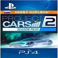 Project CARS 2 Season Pass - PS4 SK Digital - Herní doplněk