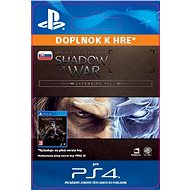 Middle-earth: Shadow of War Expansion Pass - PS4 SK Digital - Herní doplněk