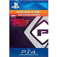NFS Payback 500 Speed Points - PS4 SK Digital - Herný doplnok