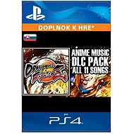 DRAGON BALL FIGHTERZ - Anime Music Pack - PS4 SK Digital - Herní doplněk