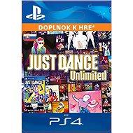 Just Dance Unlimited - 12 months pass - PS4 SK Digital - Herní doplněk
