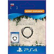 The Elder Scrolls Online: Summerset Collector's Ed. Upgrade - PS4 SK Digital - Herní doplněk