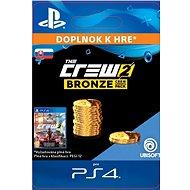 The Crew 2 Bronze Crew Credits Pack - PS4 SK Digital - Herní doplněk