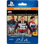 GTA Online: Criminal Enterprise Starter Pack - PS4 SK Digital - Herní doplněk