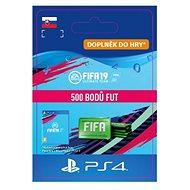 500 FIFA 19 Points Pack – PS4 SK Digital - Herný doplnok