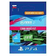 12000 FIFA 19 Points Pack - PS4 SK Digital - Herní doplněk
