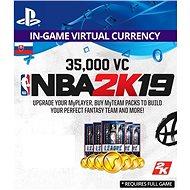 35,000 VC NBA 2K19 - PS4 SK Digital - Herní doplněk