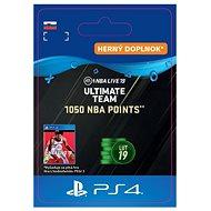 1050 NBA POINTS - PS4 SK Digital - Herní doplněk