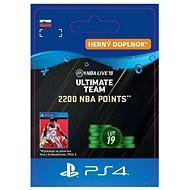 2200 NBA POINTS - PS4 SK Digital - Herní doplněk