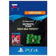 5850 NBA POINTS - PS4 SK Digital - Herní doplněk