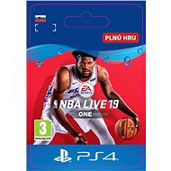 NBA LIVE 19: THE ONE EDITION - PS4 SK Digital - Herní doplněk