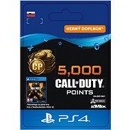 5,000 Call of Duty: Black Ops 4 Points - PS4 SK Digital - Herní doplněk